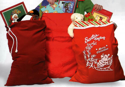Santa S Bag Of Toys : Santa s toy bag the house of make believe